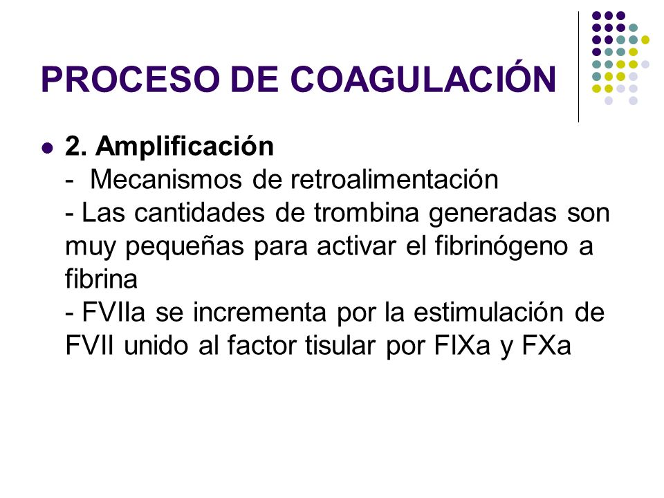 PROCESO DE COAGULACIÓN
