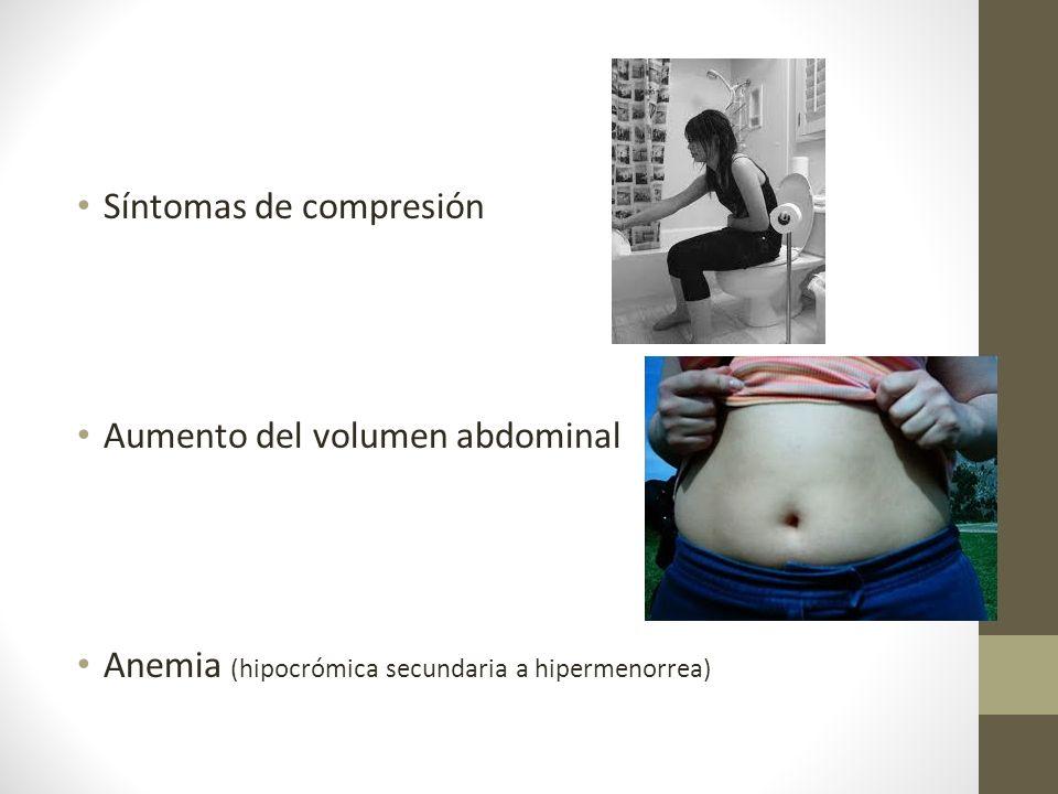 Síntomas de compresión