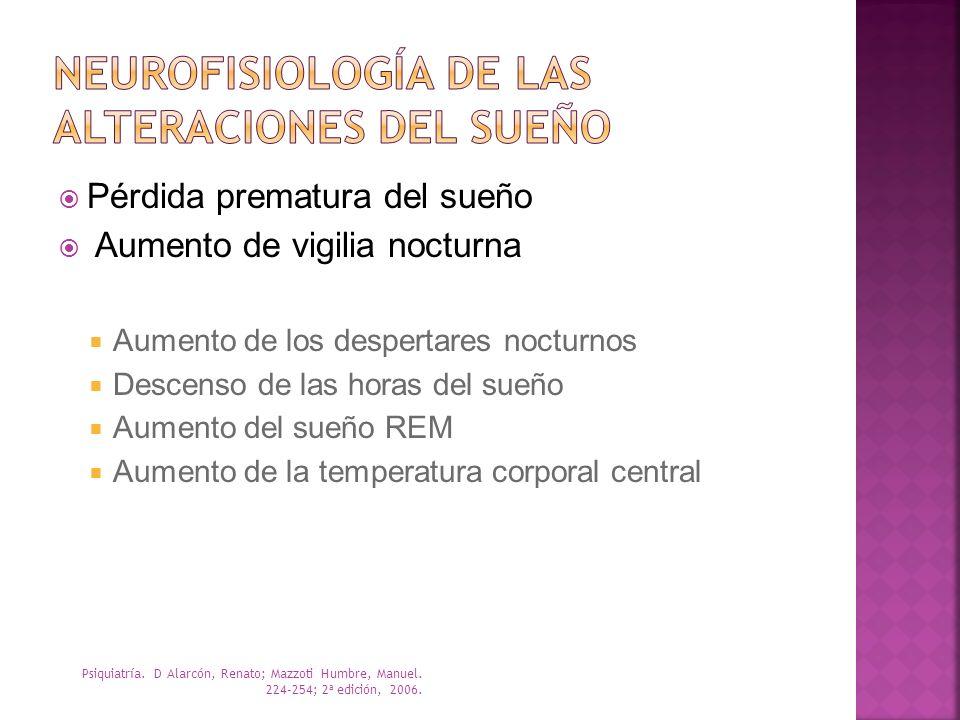 Neurofisiología de las alteraciones del sueño