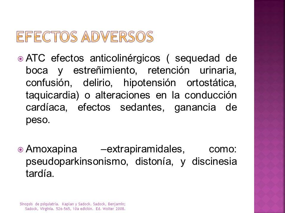 EFECTOS ADVERSOS