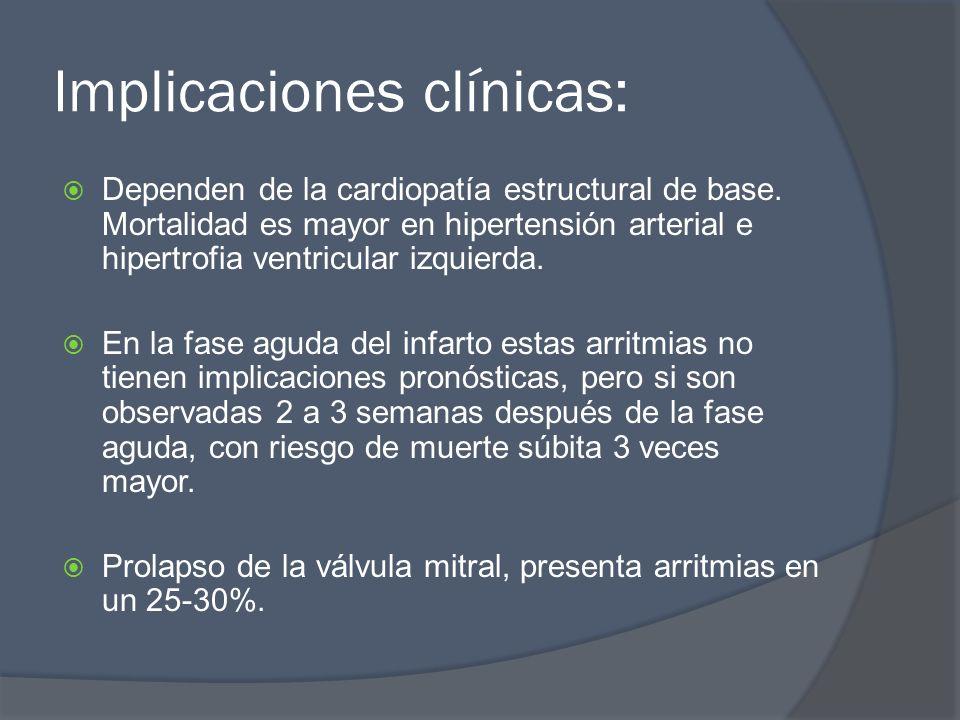 Implicaciones clínicas: