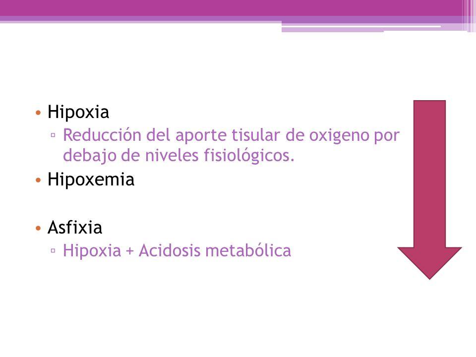 Hipoxia Hipoxemia Asfixia