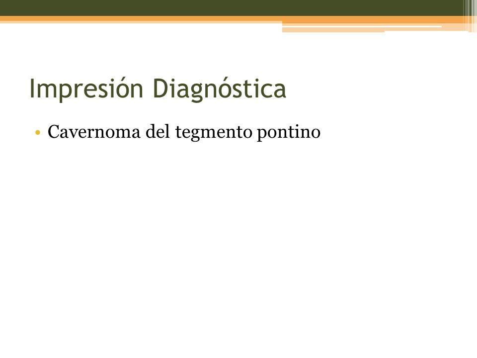 Impresión Diagnóstica