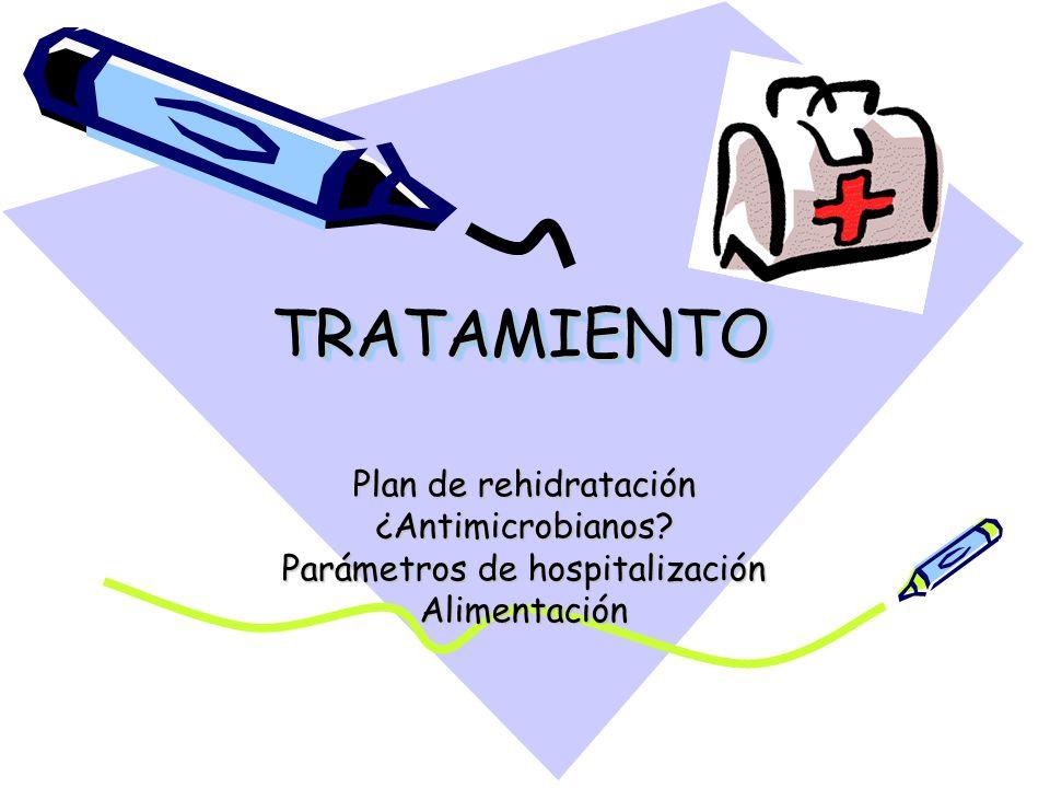 Parámetros de hospitalización