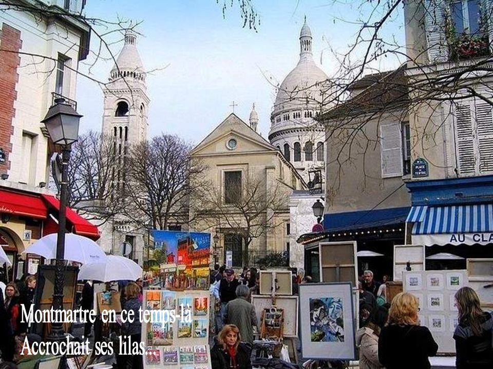 Montmartre en ce temps-là