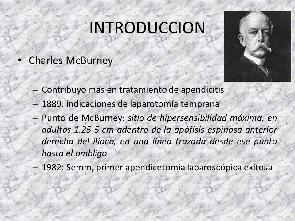 INTRODUCCION Charles McBurney