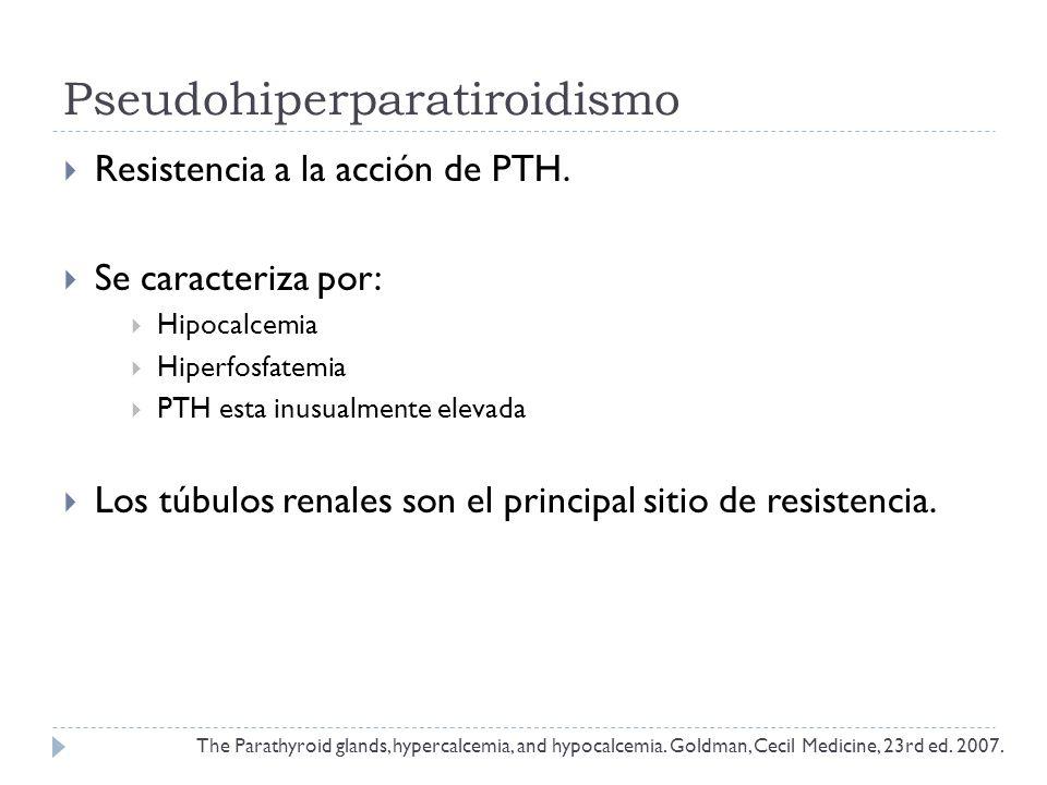 Pseudohiperparatiroidismo