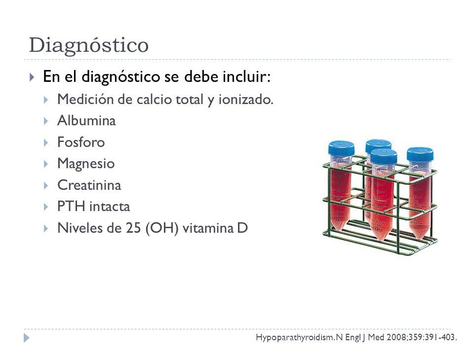 Diagnóstico En el diagnóstico se debe incluir: