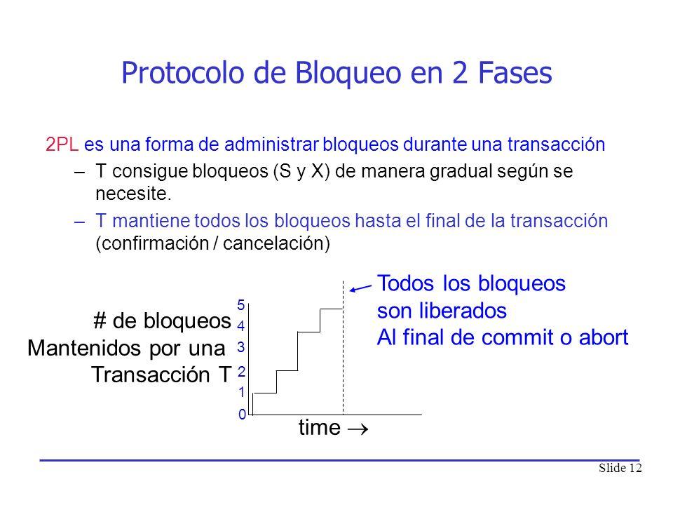 Protocolo de Bloqueo en 2 Fases