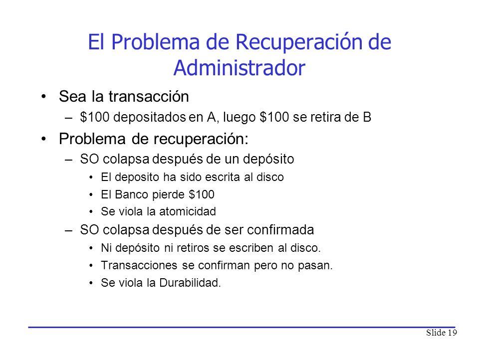 El Problema de Recuperación de Administrador