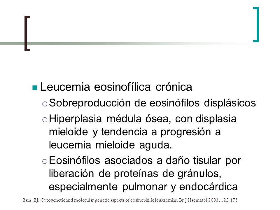 Leucemia eosinofílica crónica