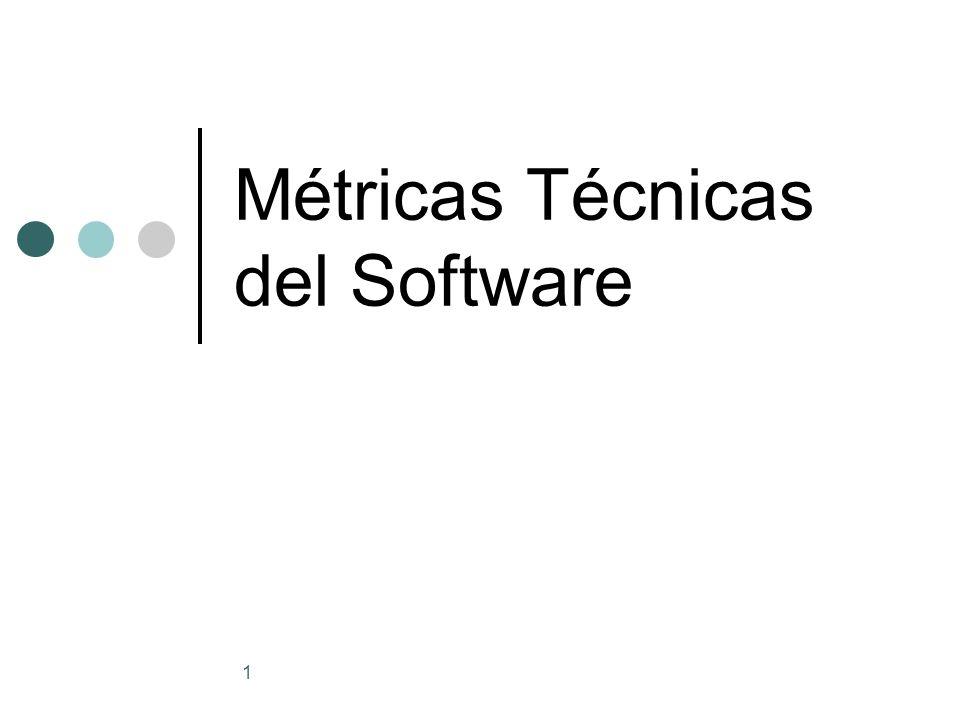 Métricas Técnicas del Software