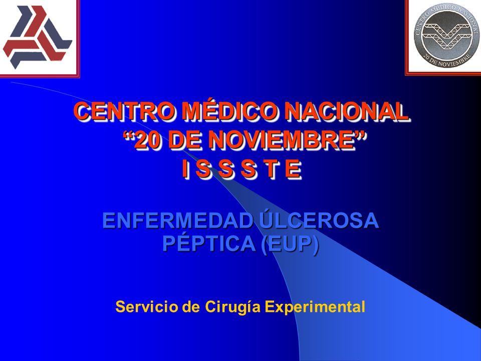 CENTRO MÉDICO NACIONAL 20 DE NOVIEMBRE I S S S T E