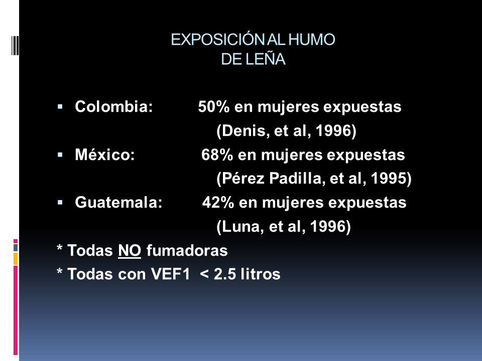 EXPOSICIÓN AL HUMO DE LEÑA
