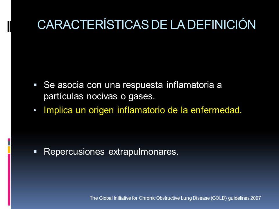 CARACTERÍSTICAS DE LA DEFINICIÓN