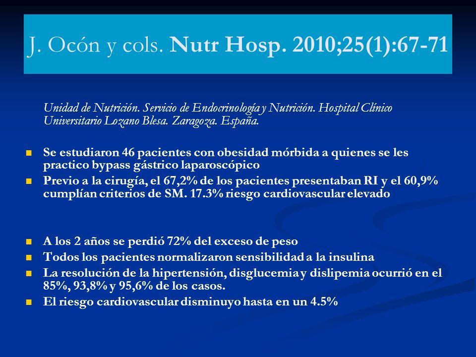 J. Ocón y cols. Nutr Hosp. 2010;25(1):67-71