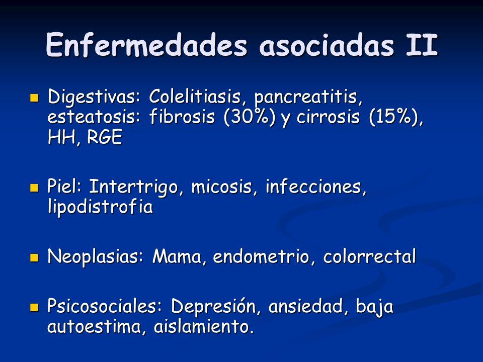 Enfermedades asociadas II