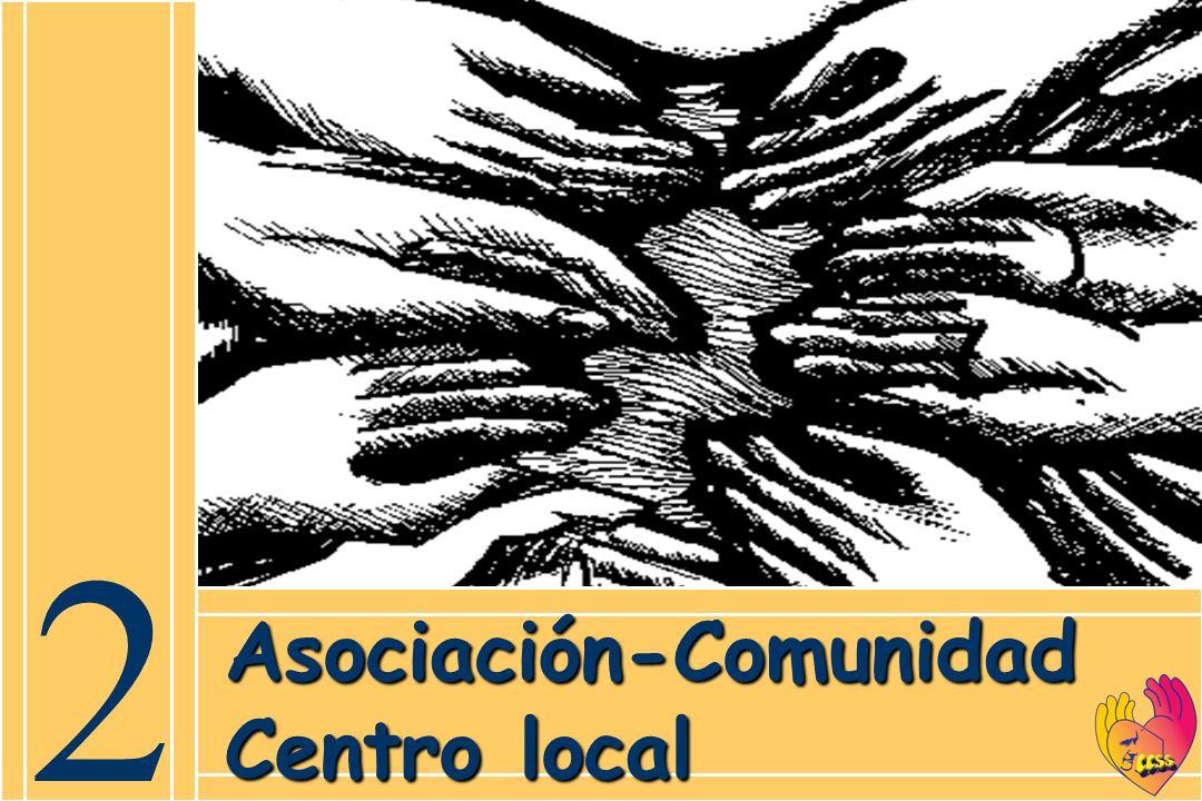 2 Asociación-Comunidad Centro local