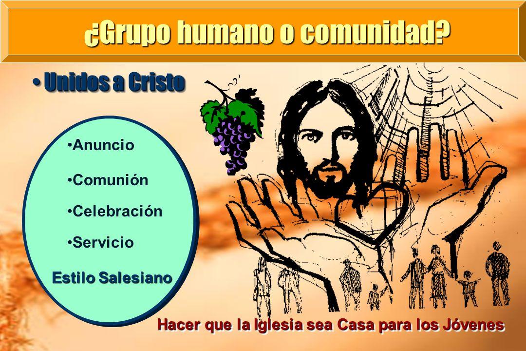 ¿Grupo humano o comunidad
