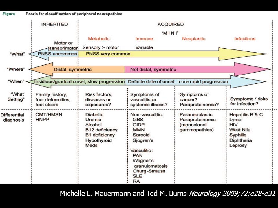 Michelle L. Mauermann and Ted M. Burns Neurology 2009;72;e28-e31