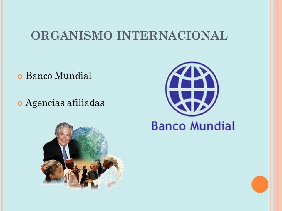 ORGANISMO INTERNACIONAL