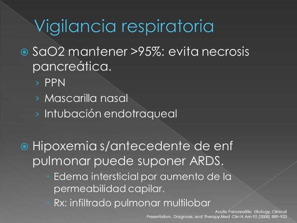 Vigilancia respiratoria