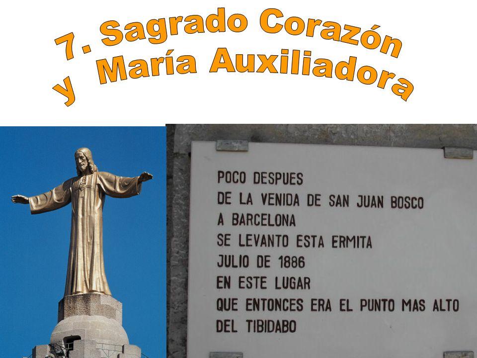 7. Sagrado Corazón y María Auxiliadora