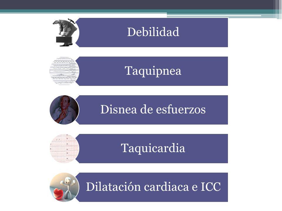Dilatación cardiaca e ICC