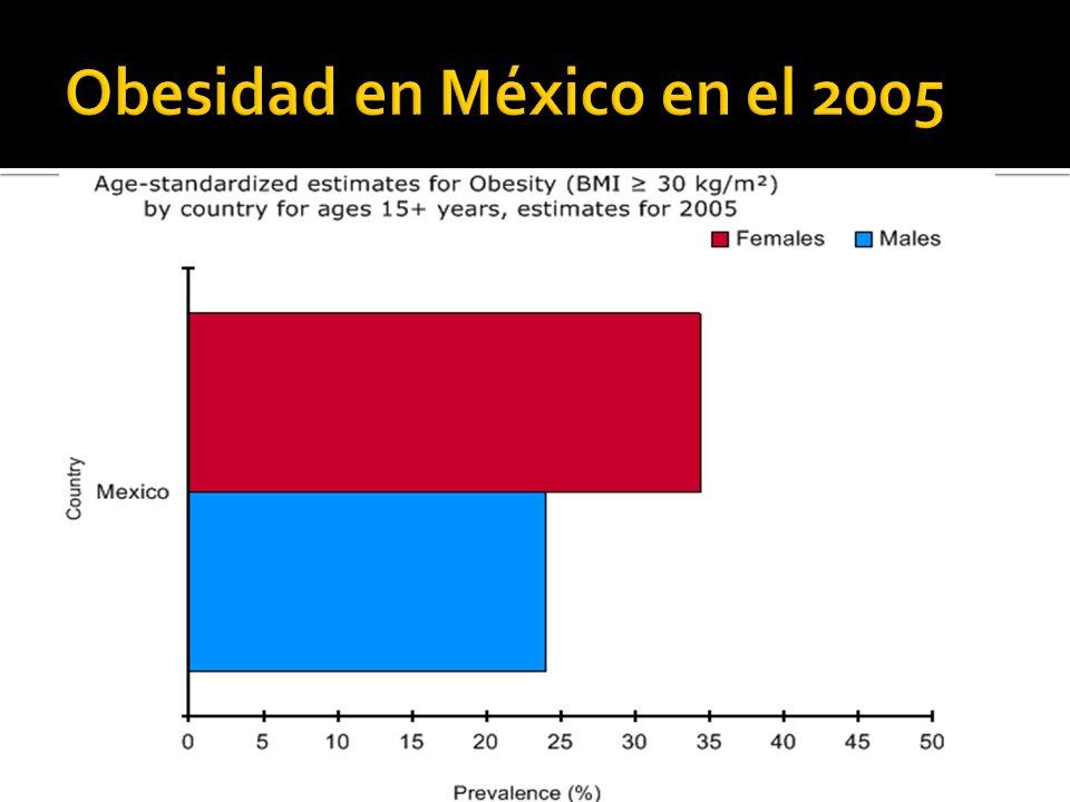 Obesidad en México en el 2005