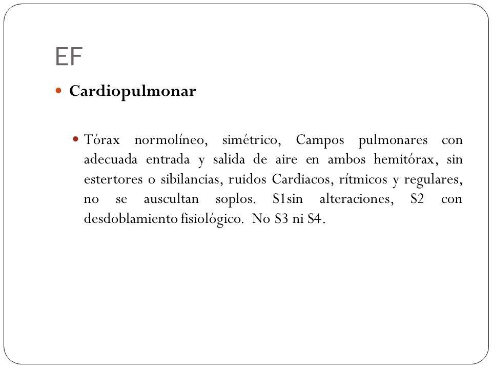 EF Cardiopulmonar.