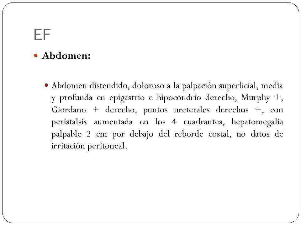 EF Abdomen: