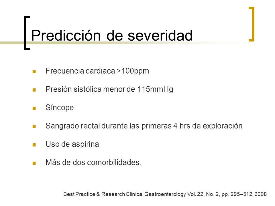 Predicción de severidad
