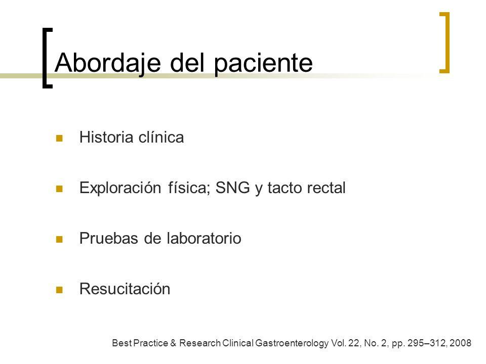 Abordaje del paciente Historia clínica