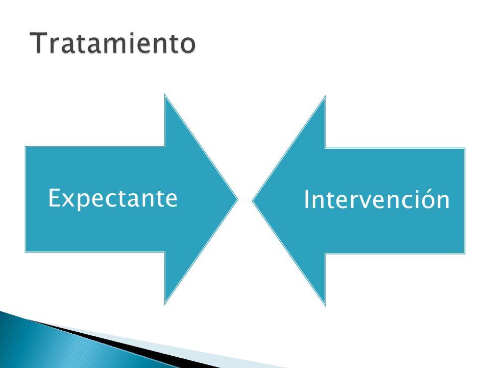 Tratamiento Expectante Intervención