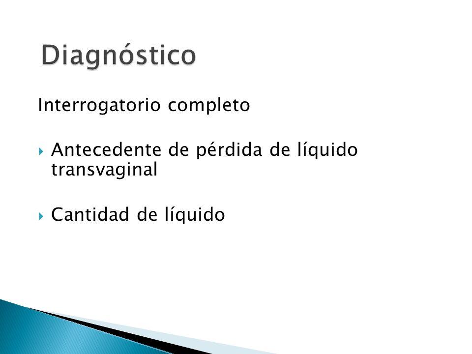 Diagnóstico Interrogatorio completo