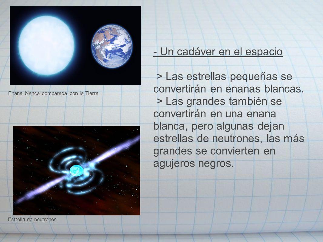 - Un cadáver en el espacio