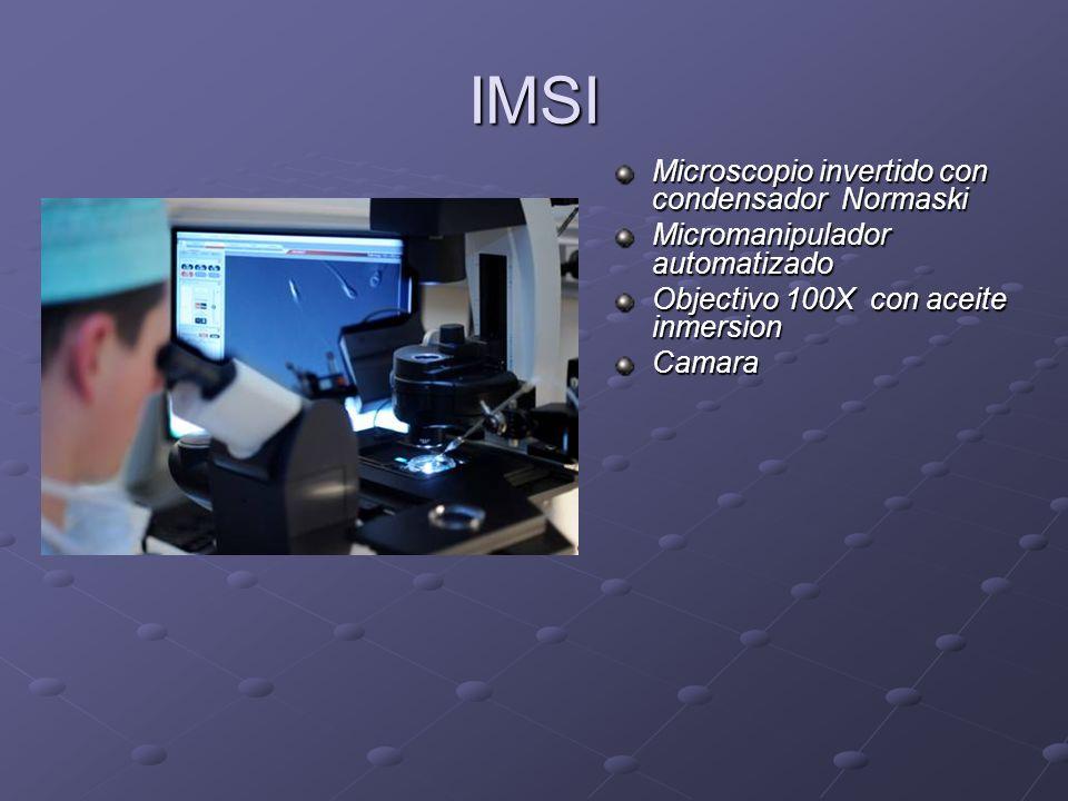 IMSI Microscopio invertido con condensador Normaski