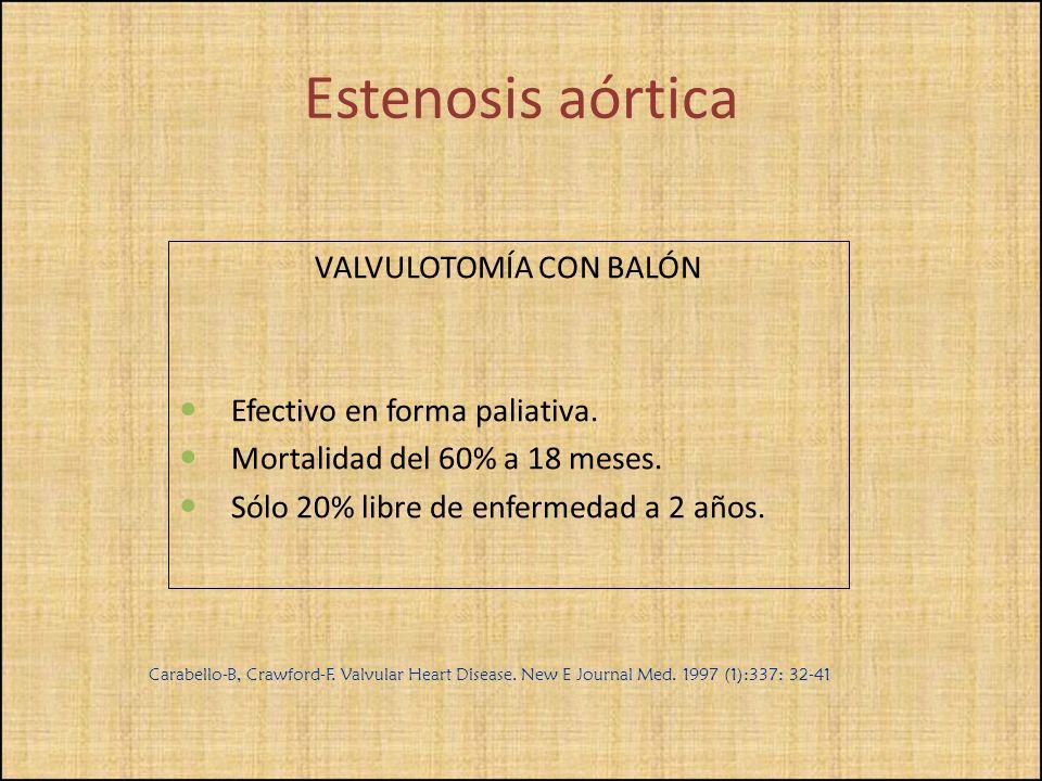 VALVULOTOMÍA CON BALÓN