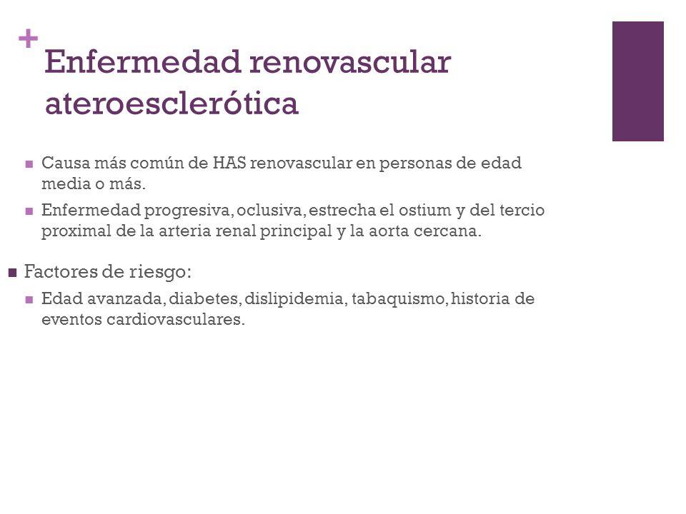 Enfermedad renovascular ateroesclerótica