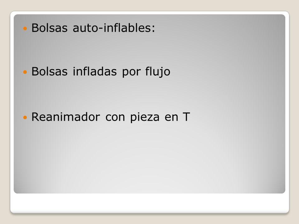 Bolsas auto-inflables: