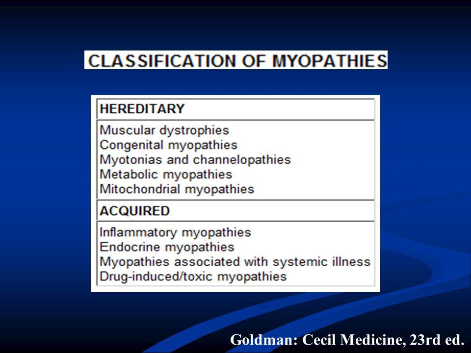 Goldman: Cecil Medicine, 23rd ed.