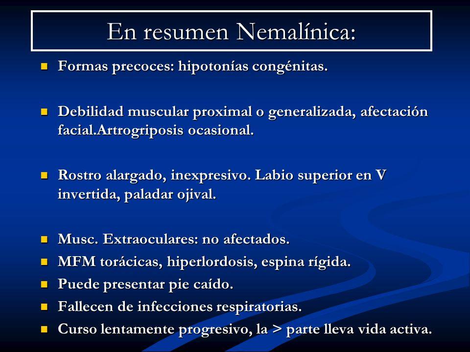 En resumen Nemalínica:
