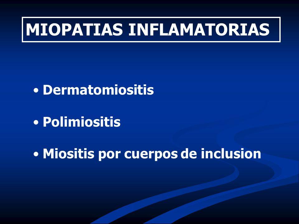 MIOPATIAS INFLAMATORIAS