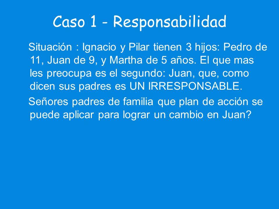 Caso 1 - Responsabilidad