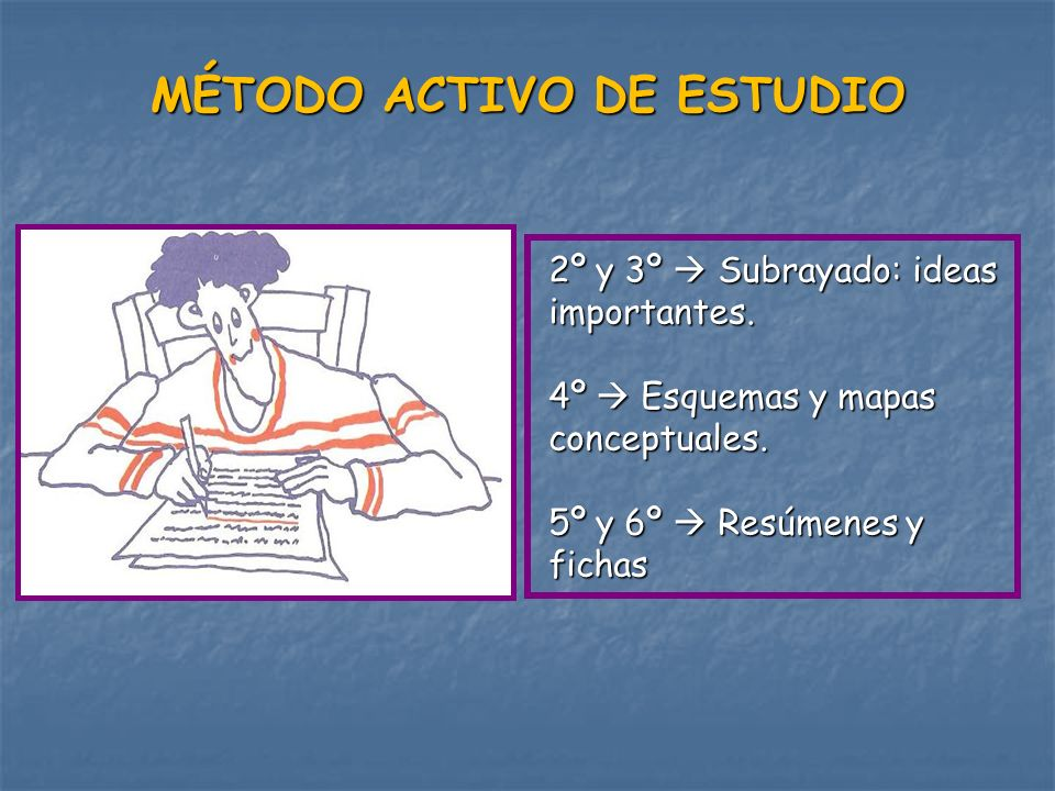 MÉTODO ACTIVO DE ESTUDIO