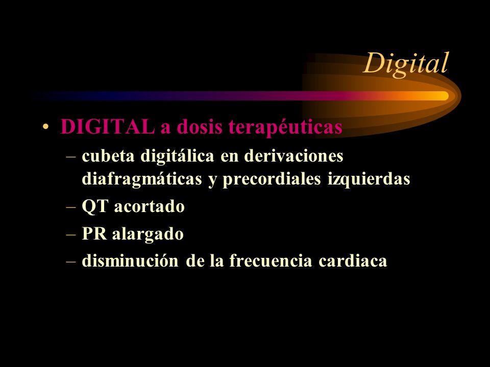 Digital DIGITAL a dosis terapéuticas