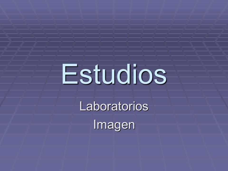 Estudios Laboratorios Imagen