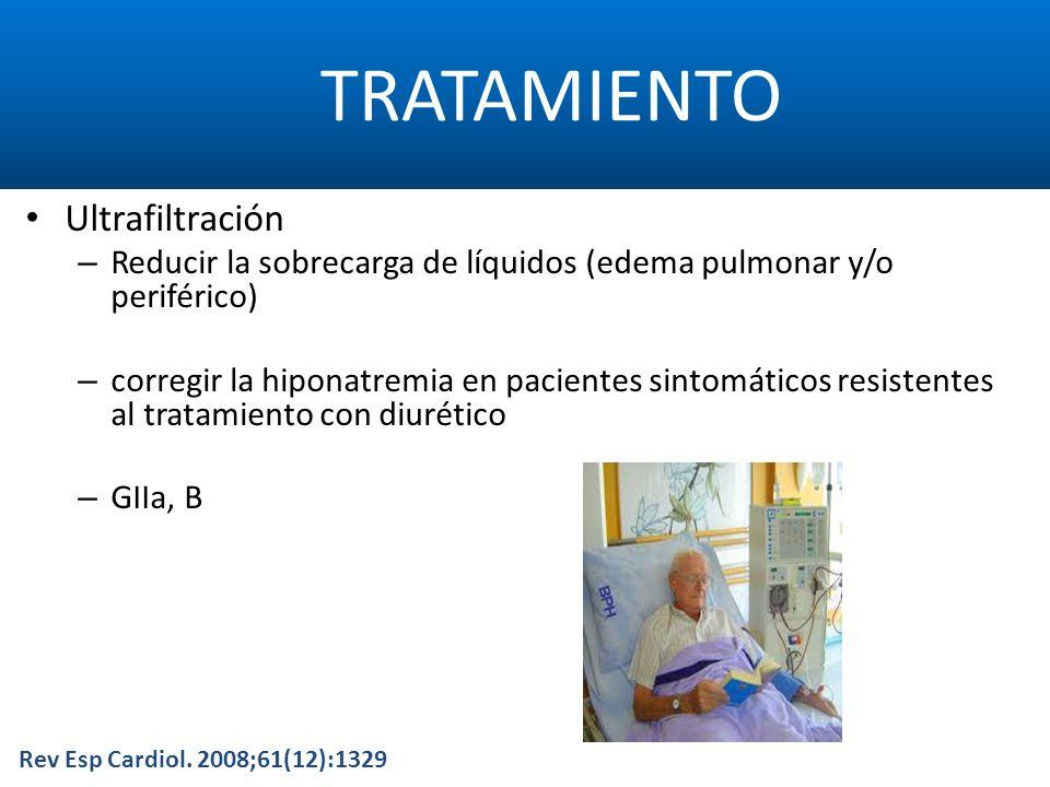 TRATAMIENTO Ultrafiltración