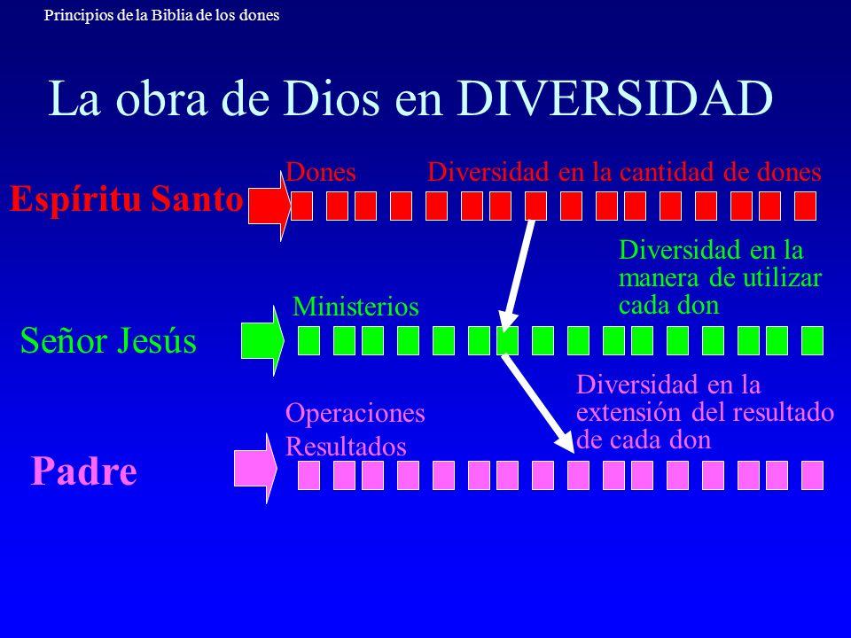La obra de Dios en DIVERSIDAD