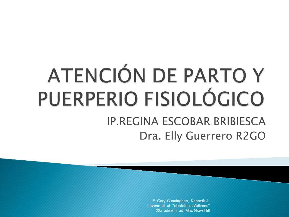 ATENCIÓN DE PARTO Y PUERPERIO FISIOLÓGICO